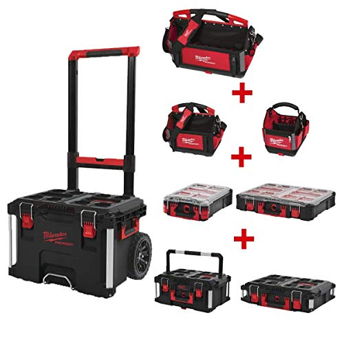 Pack 8 productos modulares MILWAUKEE PACKOUT