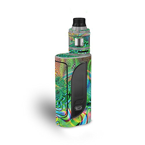 MightySkins Skin Compatible with Eleaf iKonn 220 - Psychedelic | Protective, Durable, and Unique Vinyl Decal wrap Cover | Easy to Apply, Remove, and Change Styles | Made in The USA