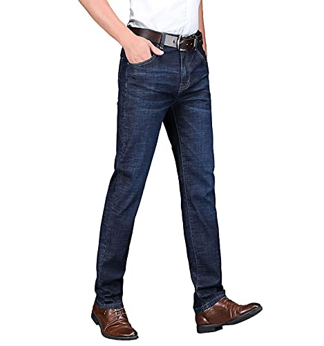 SCYDAO Männer Casual Stretch Jeans Lose...