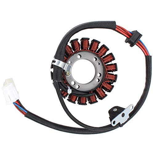MOTOKU Stator for Suzuki LTZ 400 QuadSport Arctic Cat DVX 400 ATV Kawasaki KFX 400 2003-2008