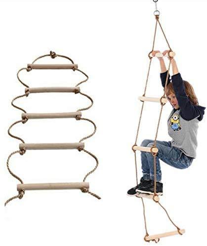 escalera de cuerda decathlon