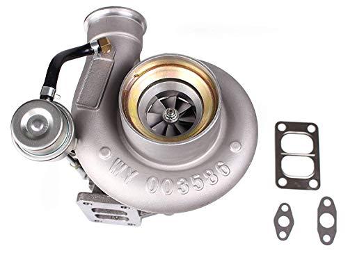 HX35 HX35W Turbo Fit for 1999-2002 Dodge Ram 2500 3500 5.9L Truck 6BT Diesel Cummins 3592766 Turbocharger with Internal Wastegate