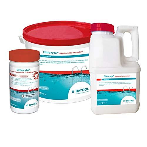 BAYROL Chloryte - Granulés de chlore non stabilisé - saut de 5kg