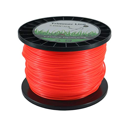 Convit .095 Inch Trimmer Line 3 LB Weed Trimmer Line for Stihl Commercial Weed Eater String 826 Feet Round Heavy Duty String Trimmer Line