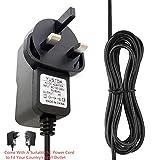 Adaptador AC/DC para OWON HDS1021M Osciloscopio Digital de Mano, multímetro de Fuente de alimentación, Cable PS de Pared, Cargador para el hogar, Fuente de alimentación