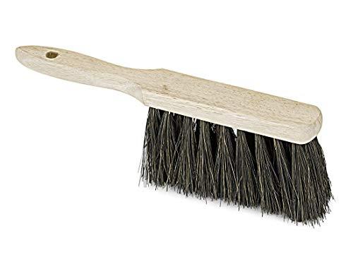Handfeger Arenga 28cm, mit Holzgriff, Industriehandfeger, Handbesen, Kehrbesen, Besen, Kehrer, für feinen und groben Schmutz