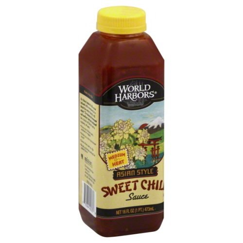 World Harbor Sweet Chili Sauce Plastic Bottle, 16 oz
