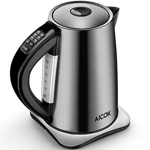 Electric Kettle Temperature Control 3000W Fast Boil Kettle with Smart...