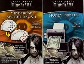 As Seen On Tv Award Winning Criss Angel Mindfreak Secret Deck 1 Magic Card Set