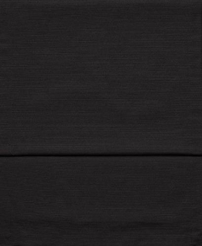 Fino Tischläufer ca. 40 x 150 cm mit Saum hochwertig & knitterarm mit großer Farbauswahl (Farbe 001 Schwarz)