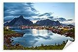 Postereck - Poster 0906 - Lofoten Norwegen, Reine Fjord
