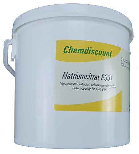 5kg Natriumcitrat (Trinatriumcitrat-Dihydrat, TNC), Pharmaqualität und Lebensmittelqualität E331