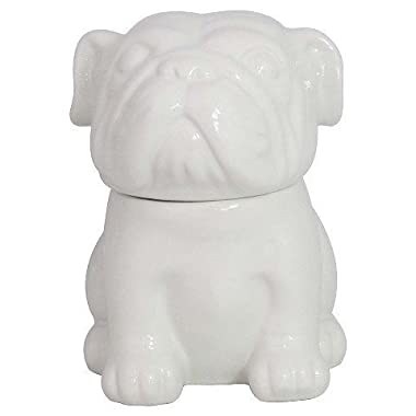Threshold English Bulldog Cookie Jar - White (65oz.)