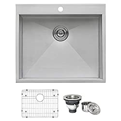10 Best Stainless Steel Kitchen Sinks of 2020 (list of top rated stainless steel sinks) 13
