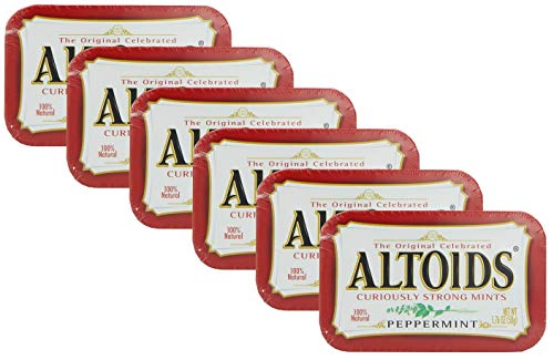 Altoids Peppermint Mints - 6 PACK by Altoids Peppermint Mints