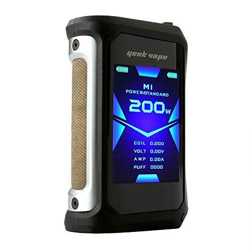 GeekVape Aegis X Box Mod 200 W, Riccardo e-Zigarette - Akkuträger, classic silver