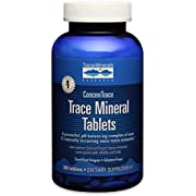 Trace Minerals Research Trace Mineral Tablets, Low Sodium, 300 Tablets