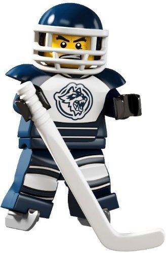 LEGO 8804 - Sammelfigur Serie 4 - Eishockey-Spieler