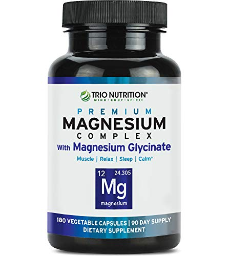 Magnesium Complex by Trio Nutrition Mind Body Spirit review