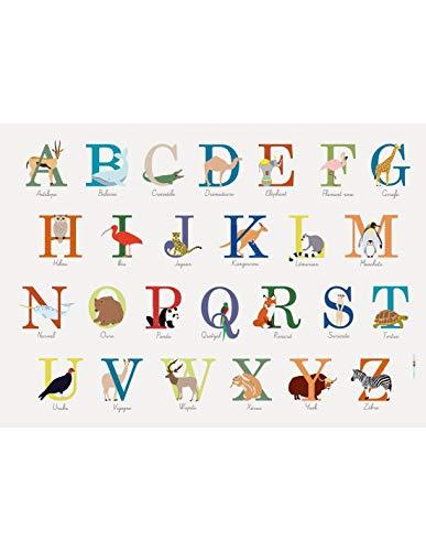 Set De Table Enfant : ABC Animaux