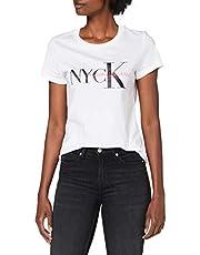 Calvin Klein Nyck Classic Slim Tee Camicia Donna