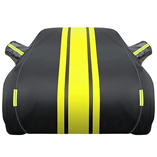 Fundas para Coche Funda para Coche Compatible con Audi A2 A3 A4   Lona De Coche Resistente A Los Arañazos con Protección contra El Polvo con Banda Reflectante (Color : A, Size : A4)