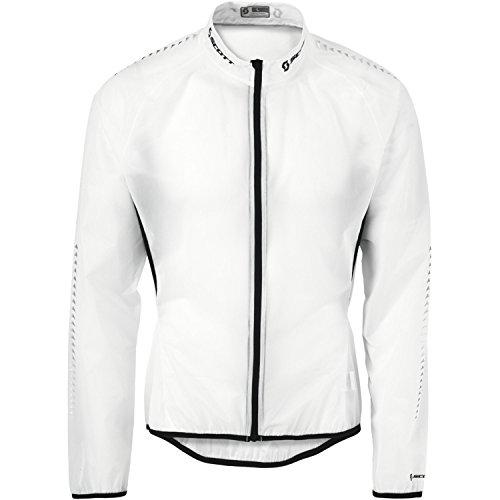 Scott RC Pro Fahrrad Wind/Regenjacke Weiß Transparent 2014, Herren, Weiß, Größe XX-Large