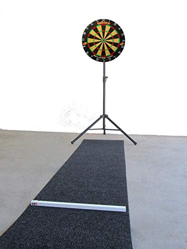 DSX Unicorn Eclipse HD2 Komplett Set Steel Dartboard Ständer Dartmatte Variable Oche