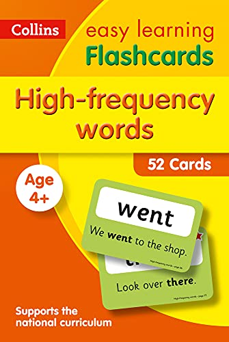 High Frequency Words Flashcards: Ideal for home learning (Collins Easy...