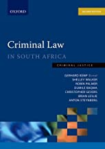 Criminal Law in South Africa Criminal Law in South Africa (Criminal Justice)