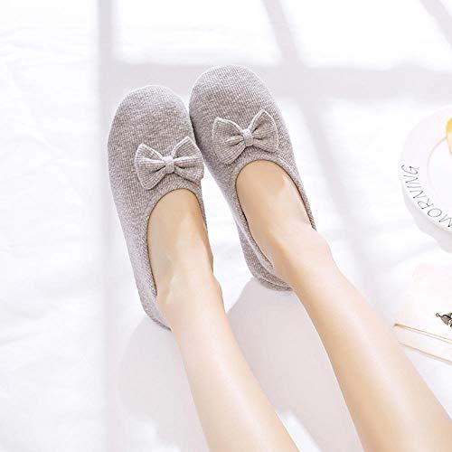 B/H Classic Slipper,Zapatos de confinamiento de sección Delgada Zapatos de Maternidad de Fondo Suave de Maternidad de Fondo Suave para el hogar-A_34-35,Zapatillas Que absorben