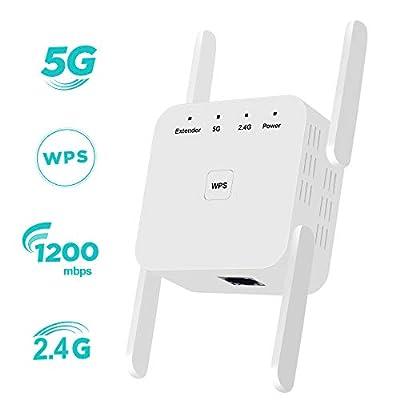 ZHENREN WiFi Extender Signal Booster