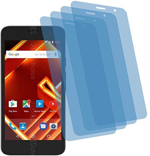 4ProTec I 4X ANTIREFLEX matt Schutzfolie für Archos Access 50 4G Bildschirmschutzfolie Displayschutzfolie Schutzhülle Bildschirmschutz Bildschirmfolie Folie