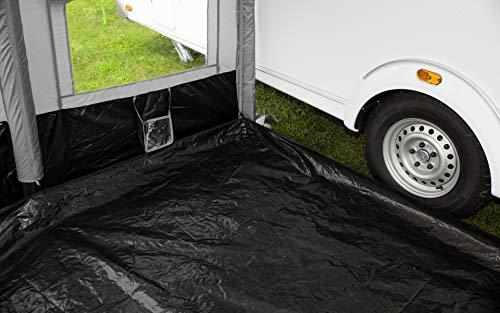 Berger Bodenwanne Molina II Wohnwagen Camping Wanne Plane Reisevorzelt Vorzelt Zelt Boden schwarz