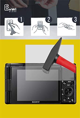 EnWi | 2X Panzer-Glas-Folie 9H Display-Schutz-Folie für Sony ZV-1