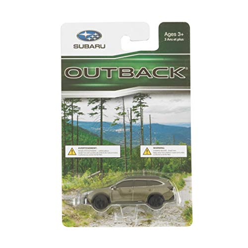 Subaru Official Genuine Outback 1/64 Die Cast Toy Car Diecast New 1:64 New Olive Green