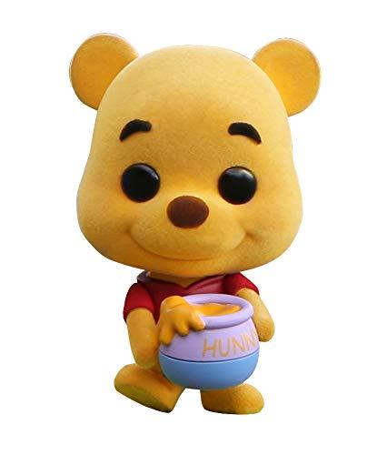 Hot Toys Winnie the Pooh Flocked Winnie the Pooh - Peluche de Winnie the Pooh Flocked