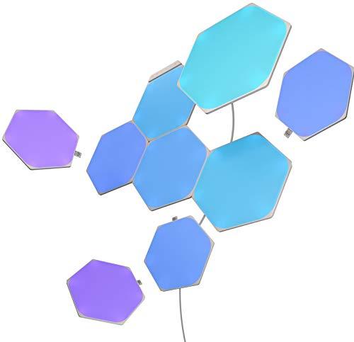 Nanoleaf NL42-0002HX-9PK Intelligente Leuchtpaneele, mehrfarbig (RGBW)