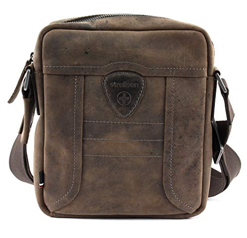 Strellson hunter shoulderbag xsvz Herren Leder Tasche