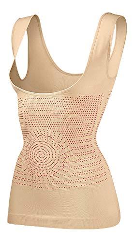 FirSlim Miederhemd Mieder Shapewear Bauchweg Hemd Figurformer Bodyshaper (L)