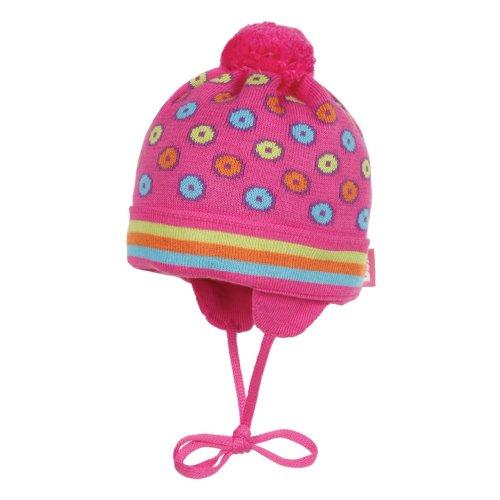 Döll Baby - Mädchen MÃ1/4tzchen 1345710141, Gr. 51, Pink (2420 beetroot purple)