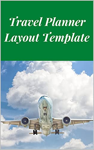 Travel Planner Layout Template (English Edition)