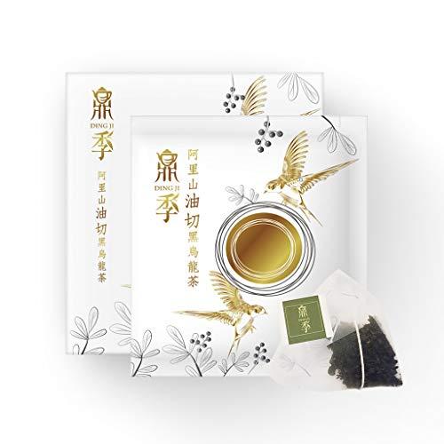 【鼎季 DING JI】Alishan Dark Oolong Tea, Weight Loss Tea For Women, All-Natural, Slimming Tea,diet tea. ( Pack of 4 )