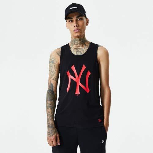 New Era Camiseta línea York Yankees Modelo MLB SEASONL Team Logo Tank NEYYAN Marca