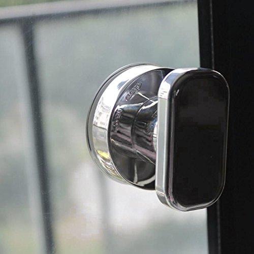 SODIAL Manija de Ventosa de Tirador del refrigerador del cajon Tirador del bano de Montaje en pared Tirador Sin tornillos Hardware de muebles