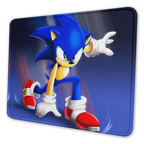 Gocerktr Sonics Gaming Cool Gaming Mouse Pads Custom Overhand Keyboard Mouse Mat