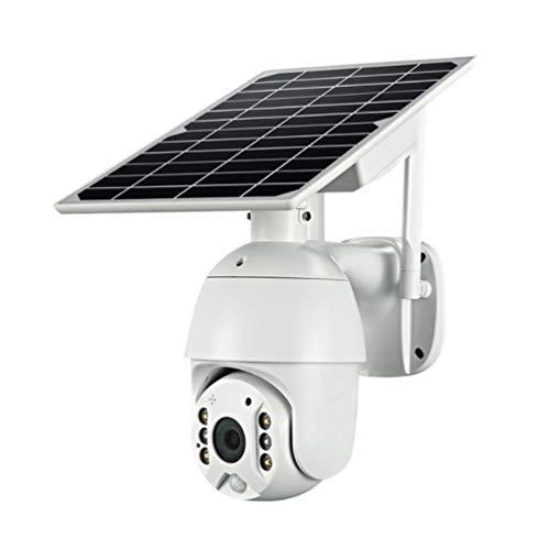 Cámara de seguridad IP con energía solar, cámara domo de...