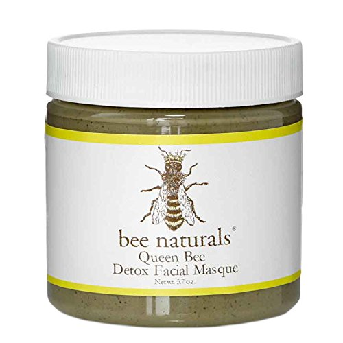 Bee Naturals Detox Facial Mask - Cleanse, Clarify and Tighten Facial Skin - Perfect For Congested, Oily or Troubled Face and Neck Skin - Natural Ingredients - Helps Dry Up Blemishes