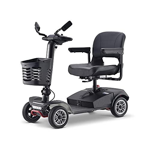 Fly YUTING Scooters de Movilidad de 4 Ruedas para discapacitados y Ancianos,...