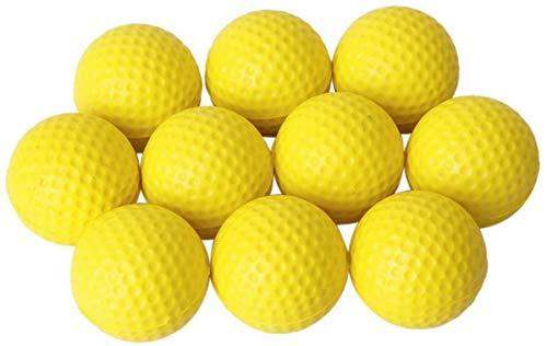 ProLeo Training Golf Bälle – Indoor Outdoor Training Soft Foam Golfbälle Gelb 10pcs Sport-Produkte